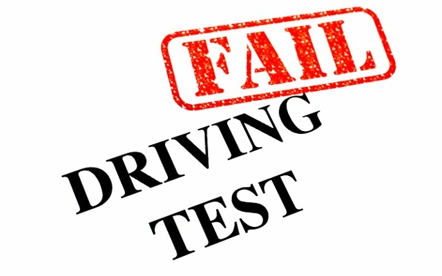 Driving Test FAIL _ get passed
