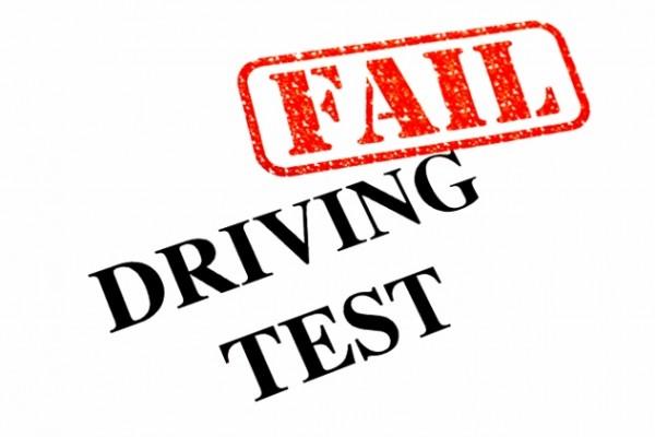 Licence Test Fail