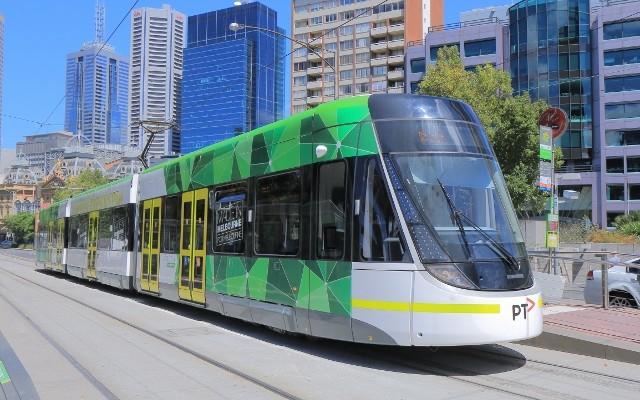 Melbourne modern tram